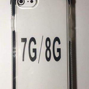 Iphone 8 phone case black